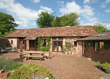 Thumbnail 4 bed barn conversion for sale in Hockworthy, Wellington