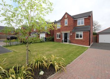 Thumbnail 4 bed detached house for sale in Grove Farm Drive, Adlington, Chorley