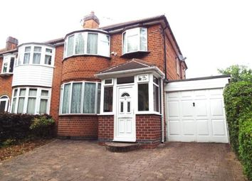 Thumbnail 3 bed semi-detached house for sale in Garland Crescent, Leicester, Leicestershire, England