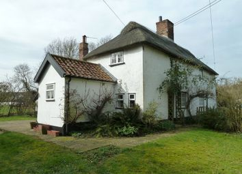 Thumbnail 3 bedroom semi-detached house to rent in Heckfield Green, Hoxne, Eye, Suffolk