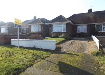 Thumbnail 2 bed bungalow for sale in Hazel Road, Loughborough, Leicestershire