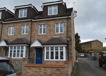 Thumbnail 2 bed terraced house to rent in Holly Road, Aldershot