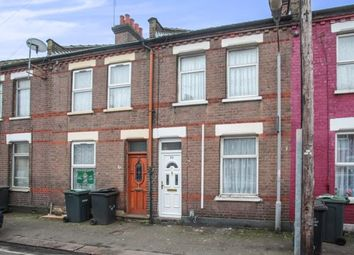 Thumbnail 2 bedroom terraced house for sale in Wimborne Road, Luton, Bedfordshire