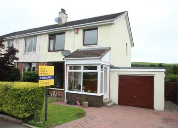 Thumbnail 3 bed semi-detached house for sale in Libo Avenue, Uplawmoor, Glasgow, East Renfrewshire