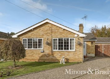 Thumbnail 3 bed detached bungalow for sale in Levishaw Close, Buxton, Norwich