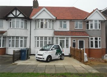 Thumbnail 3 bed terraced house for sale in Somervell Road, South Harrow, Middlesex