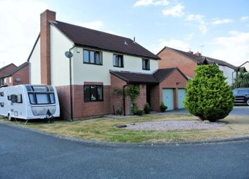 Thumbnail 4 bedroom detached house for sale in Penny Close, Longlevens, Gloucester
