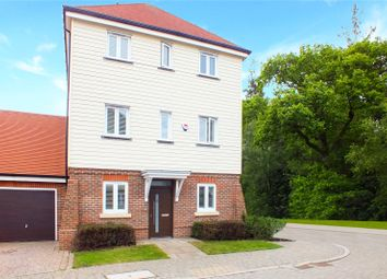 Thumbnail 3 bed detached house for sale in Willowbourne, Fleet