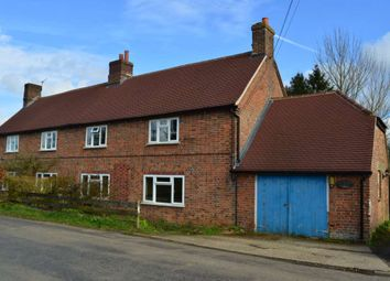 Thumbnail 3 bed semi-detached house to rent in Mount Pleasant, Beedon, Newbury