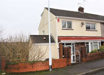 Thumbnail 4 bed semi-detached house for sale in Overland Close, Mumbles, Swansea