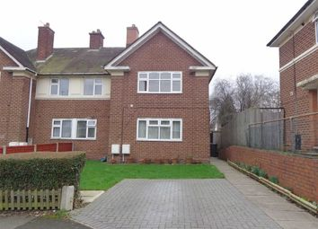 Thumbnail 1 bedroom maisonette for sale in Caldecote Grove, Bordesley Green, Birmingham
