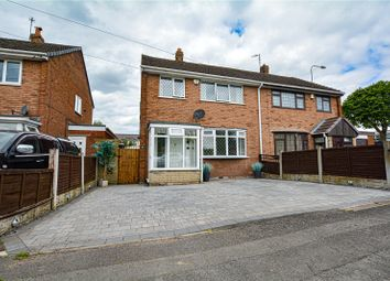Thumbnail 3 bed semi-detached house for sale in Brook End, Fazeley, Tamworth, Staffordshire