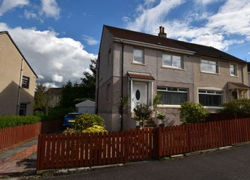 Thumbnail 3 bed semi-detached house for sale in St. Brides Avenue, Uddingston, Glasgow