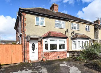 Thumbnail 3 bedroom semi-detached house for sale in Cranmer Road, Oxford
