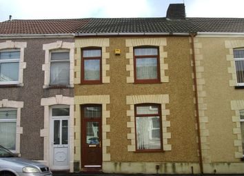 Thumbnail 3 bedroom terraced house for sale in Gelli Street, Port Tennant, Swansea, City & County Of Swansea.