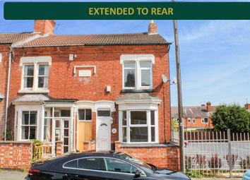 Thumbnail 3 bed end terrace house for sale in Burgess Road, Aylestone, Leicester