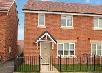 Thumbnail 3 bed semi-detached house for sale in Hollands Drive, St. Martins, Oswestry