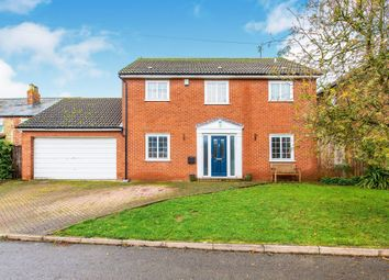 Thumbnail 4 bed detached house for sale in De Capel Close, Woodford, Kettering