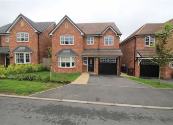 Thumbnail 4 bed detached house for sale in Meadow Close, Longridge, Preston