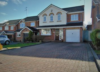 Thumbnail 4 bedroom detached house for sale in Burton Close, Daventry