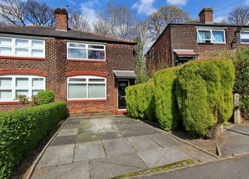 Thumbnail 2 bed semi-detached house for sale in High Bank Crescent, Prestwich, Manchester