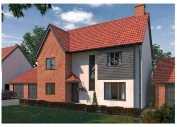 Thumbnail 4 bed detached house for sale in Plot 60 Wendover Park, Salhouse Road, Norwich