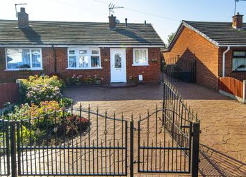 Thumbnail 3 bed semi-detached bungalow for sale in East Road, Brinsford, Wolverhampton