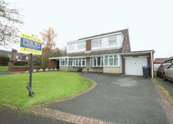 Thumbnail 3 bed semi-detached house for sale in Royce Avenue, Knypersley, Biddulph