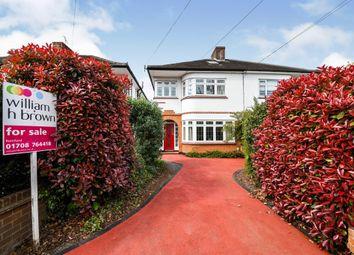 Thumbnail 4 bed semi-detached house for sale in Balgores Lane, Gidea Park, Romford