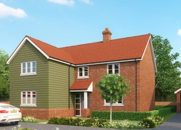 Thumbnail 4 bed detached house for sale in St Marys Road, Great Bentley, Colchester