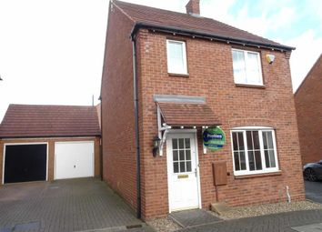 Thumbnail 3 bed detached house to rent in Applebees Meadow, Hinckley