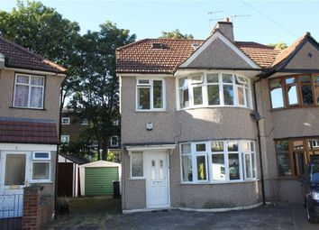Thumbnail 4 bed semi-detached house for sale in Crawford Close, Isleworth, Middlesex