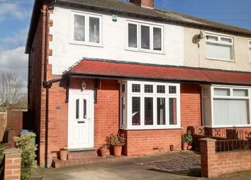 Thumbnail 3 bed semi-detached house for sale in Berry Hill Lane, Mansfield