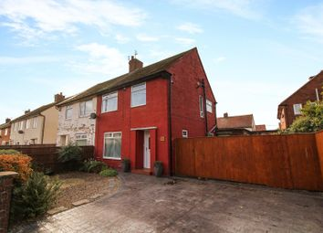 Thumbnail 3 bed semi-detached house for sale in Denton Avenue, North Shields