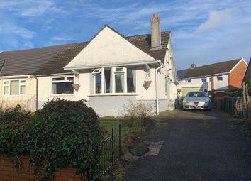 Thumbnail 2 bed bungalow for sale in Glanhowy Street, Scwrfa, Tredegar, Gwent