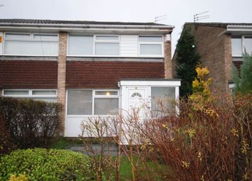 Thumbnail 3 bed semi-detached house to rent in Colnbrook Close, Kingston Park, Newcastle Upon Tyne