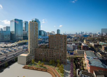 Thumbnail 3 bed town house for sale in Manhattan Plaza, 10 Preston's Road, Poplar, London