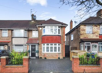 Thumbnail 3 bed end terrace house for sale in Sunley Gardens, Perivale, Greenford