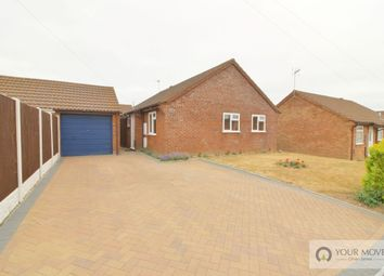 Thumbnail 3 bed bungalow for sale in Rackham Close, Hopton, Great Yarmouth