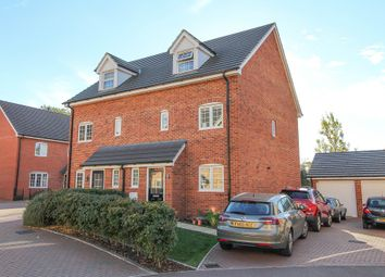 Thumbnail 3 bed semi-detached house to rent in Chamberlain Way, New Cardington
