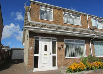 Thumbnail 3 bed semi-detached house to rent in Crewgarth Road, Westgate, Morecambe
