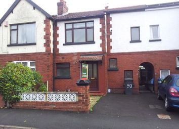 Thumbnail 3 bed terraced house to rent in Highfield Road, Prestwich, Manchester
