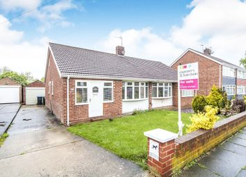 Thumbnail 2 bedroom semi-detached bungalow for sale in Virginia Gardens, Middlesbrough