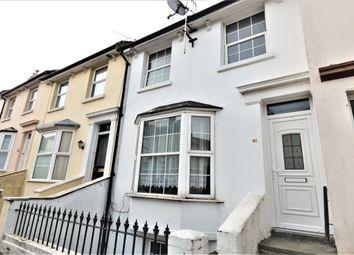 Thumbnail 3 bed terraced house for sale in Harvey Street, Folkestone