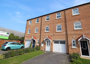 Thumbnail 4 bed town house for sale in Kilnhurst, Rotherham