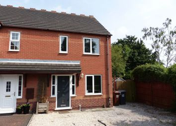 Thumbnail 2 bed terraced house for sale in Harrier Court, Lincoln
