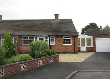 Thumbnail 2 bedroom semi-detached bungalow for sale in Cottage Row, Leicester