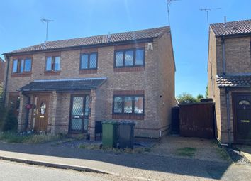 Thumbnail 3 bedroom semi-detached house for sale in Webster Way, Caister-On-Sea, Great Yarmouth