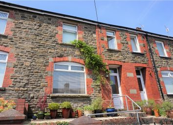 Thumbnail 3 bed terraced house for sale in Gelynos Avenue, Blackwood