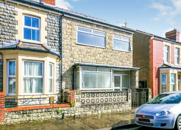 Thumbnail 3 bed end terrace house for sale in Castleland Street, Barry